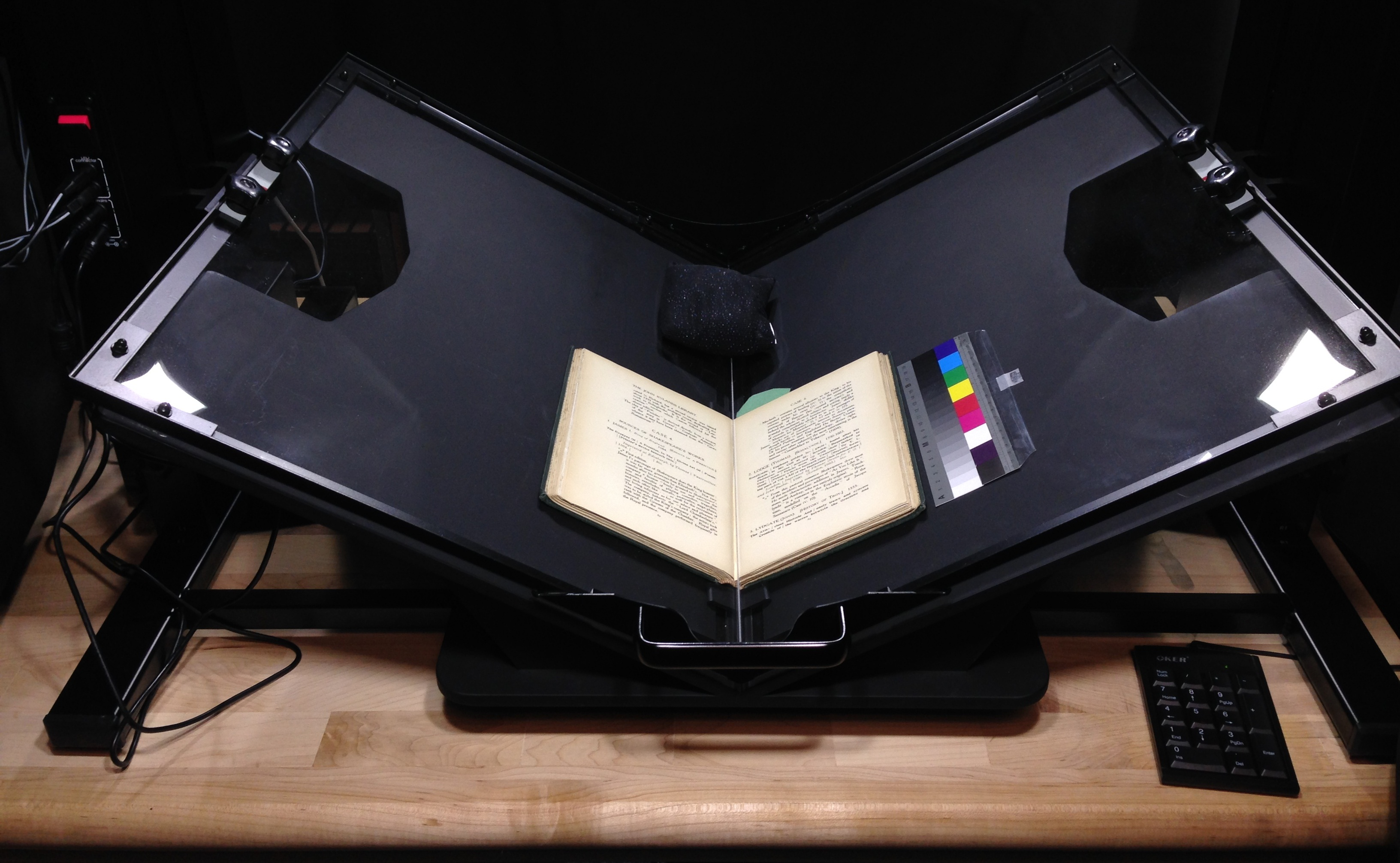 book scanning machine