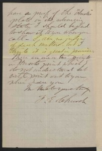 F.E. Church letter to Samuel P. Avery, 1860 Nov. 21