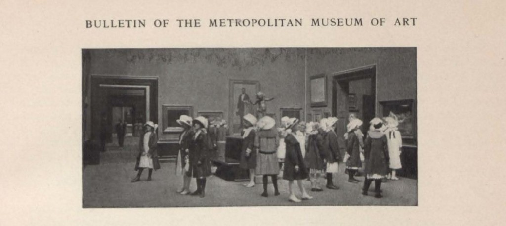 From: The Museum and the schools