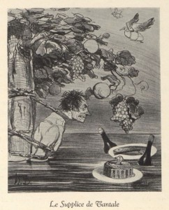 "from ""Exhibition of etchings by J.L. Forain and lithographs by Honoré Daumier and Toulouse-Lautrec"""