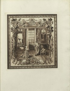 "A scene from Moliere's ""Le Malade Imaginaire,"" or ""The Imaginary Invalid"""